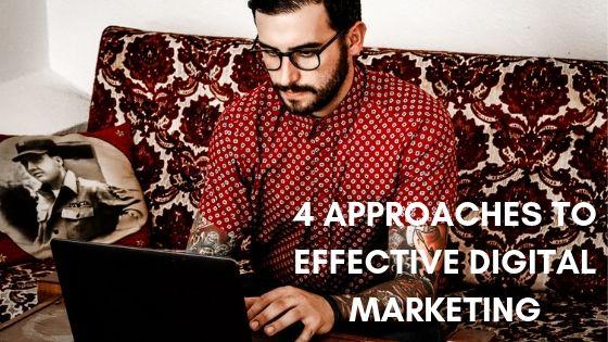 Digital marketing - 4 effective approaches to digital marketing - morgan nesbitt creative perth wa