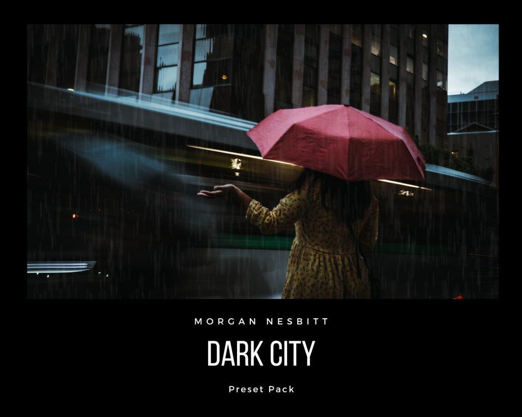 Dark city preset pack cover
